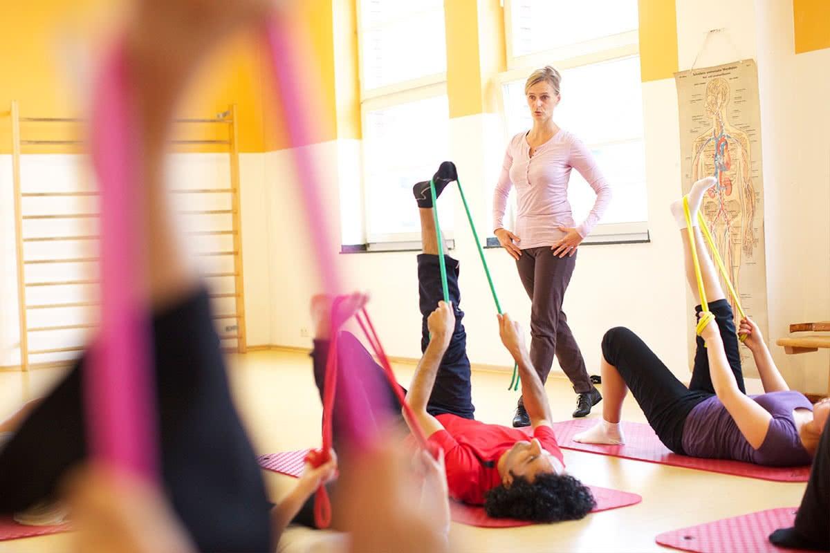 Berufsausbildung Bewegungspädagogik plus Fachhochschulreife