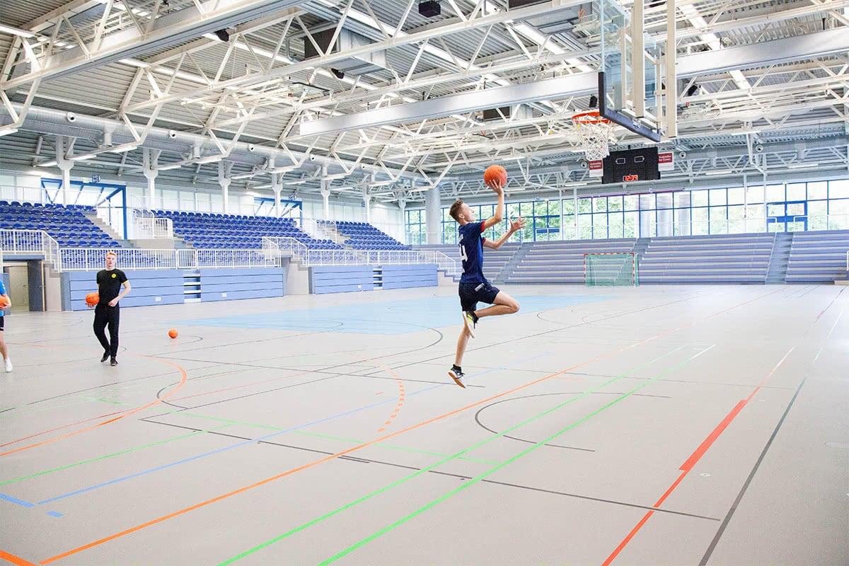 Sporthalle - Dore Jacobs Berufskolleg in Essen