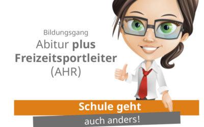 Erklärvideo zum Bildungsgang Abitur plus Freizeitsportleiter (AHR)